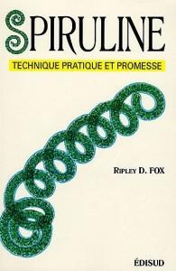 """Ripley Fox, auteur du Livre """"Spiruline, technique, pratique et promesse"""", un classique pour les producteurs."""