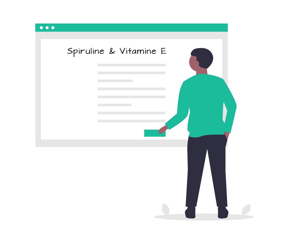 spiruline et vitamine E